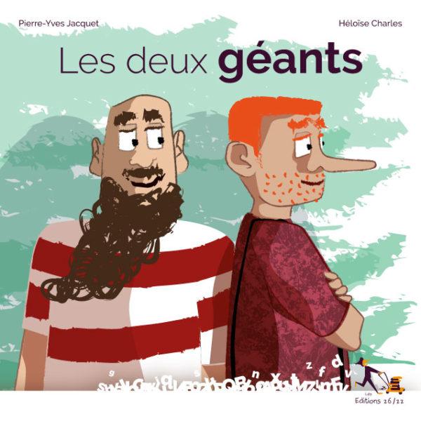Couverture du livre jeunesse les 2 géants du Morvan
